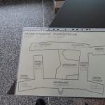 Svällpappskarta Nacka Stadshus